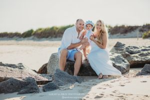 Crosby Landing Beach Family Baby Photography Session on Cape Cod in Brewster, Massachusetts - Sarah Murray Photography