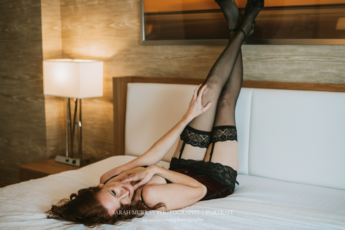Cape Cod Glamour & Boudoir Photo Session in Massachusetts - Sarah Murray Photography