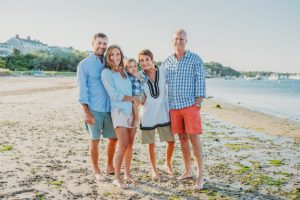 Chatham Bars Inn Family Beach Photo Session on Cape Cod in Chatham, Massachusetts - Sarah Murray Photography