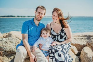 Dowses Beach Family Photo Session on Cape Cod in Osterville, Massachusetts - Sarah Murray Photography