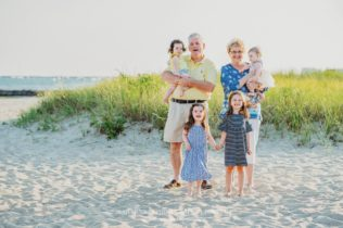 Keyes Memorial Beach Family Photo Session on Cape Cod in Hyannis Massachusetts Sarah Murray Photography