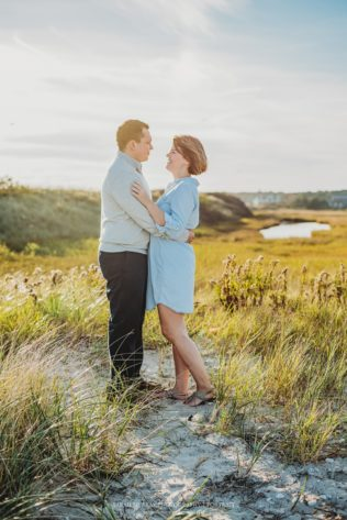 Red River Beach Engagement Photo Session on Cape Cod in Harwich Massachusetts Sarah Murray Photography