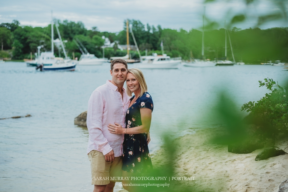 The Knob Beach Engagement Session on Cape Cod in Woods Hole Falmouth Massachusetts Sarah Murray Photography