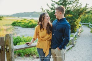 Long Beach Cape Cod Engagement Photo Session in Centerville Massachusetts Sarah Murray Photography