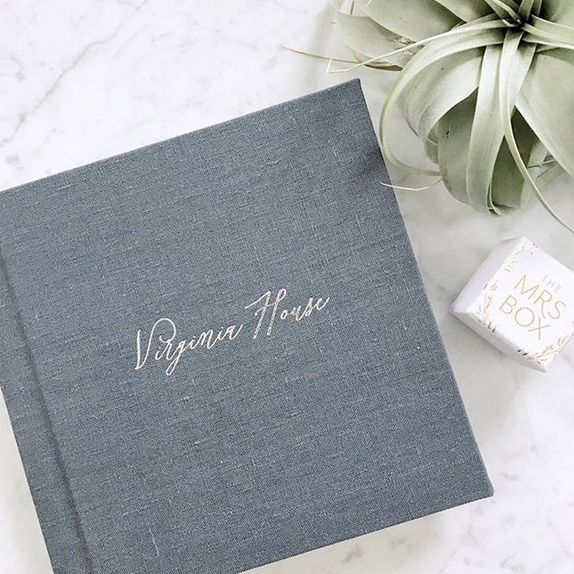 Cape Cod Wedding Albums Leather and Fabric Sarah Murray Photography
